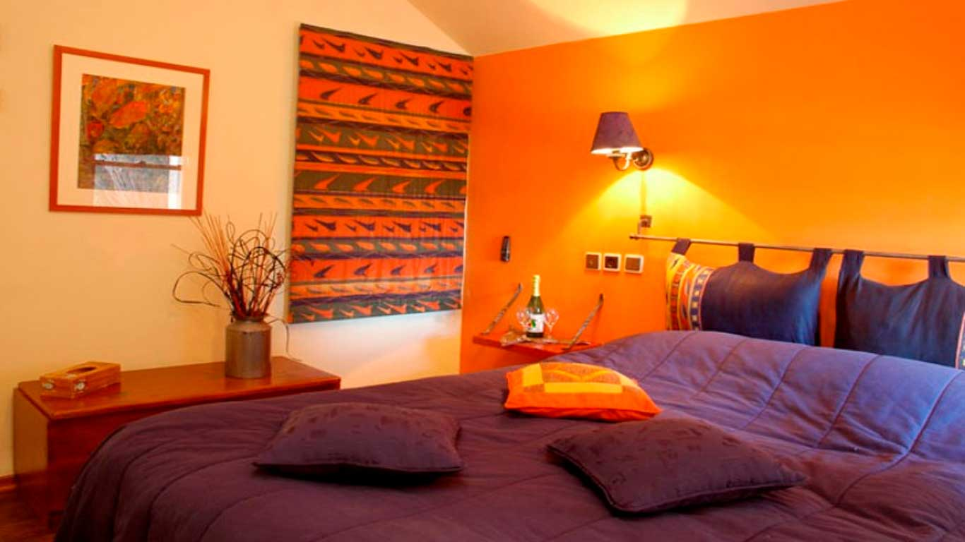 fall trending updates for decor colours styles - Orange Bedroom 2016
